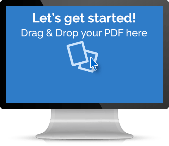 Drag and Drop Your PDF Here